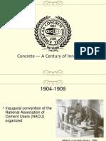History of Aci