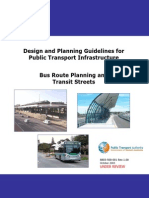 8803 500 001 Bus Route Planning