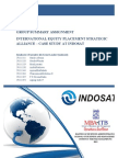 Report of International Equity Placement Strategic Alliances