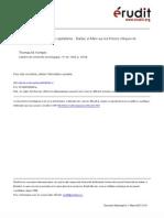 11.Les illusions spéculaires du capitalisme  Balzac et Marx sur les fictions critiques de l'économie politique.Kemple