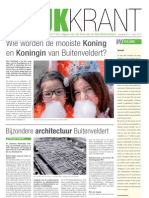 Wijkkrant Buitenveldert  Amsterdam April 2013