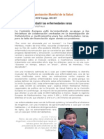 Unidos Para Combatir Las Enfermedades Raras G Humphreys Bol OMS Jun 2012 v90 n6 Pp406-407