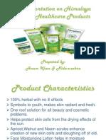 A Presentation on Himalaya Herbal Products
