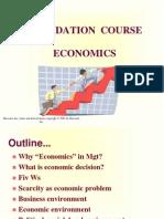Part a Economics
