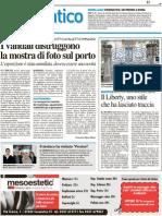 19.3.2013, 'Il Liberty, Uno Stile Che Ha Lasciato Traccia', Il Resto Del Carlino Cesena
