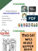 Cristina Figueira Criatividade