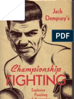 Jack Dempsey Championship Fighting Original scan