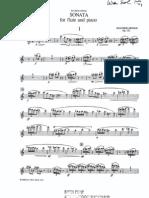 Arnold - Sonata Op. 121 - Flute Part