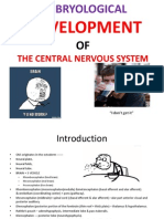 Embryology-Development of central nervous system