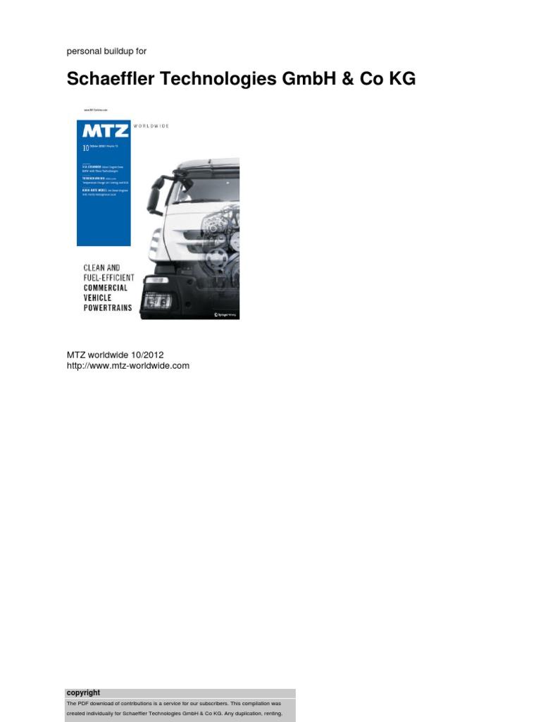 MTZ 1209 | Turbocharger | Internal Combustion Engine
