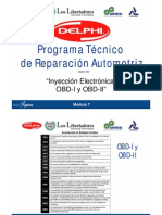 Inyeccion Electronica -OBD-I - OBDII- Parte1