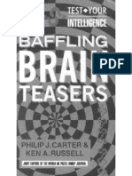 Baffling Brain Teasers