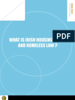 Info Leaflet - What is Irish Housing Policy and Homeless Law