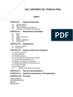 Estructura Del Contenido Del Trabajo Final