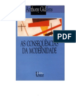 ANTHONY GIDDENS - As Consequencias da Modernidade.pdf