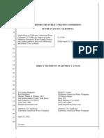 CAW Linam Direct Testimony.pdf