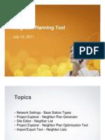 Session 3 - Neighbor Planning Tool MP530