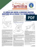 El Amigo de La Familia - Domingo 24 Marzo 2013