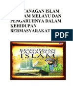 39592751 Kedatanagan Islam Ke Alam Melayu Dan Pengaruhnya Dalam Kehidupan Bermasyarakat