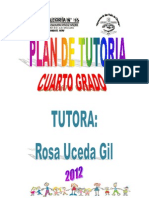 Plan de Tutoria - 4to