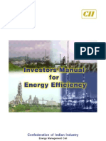 Investor Manual for Energy Efficiency