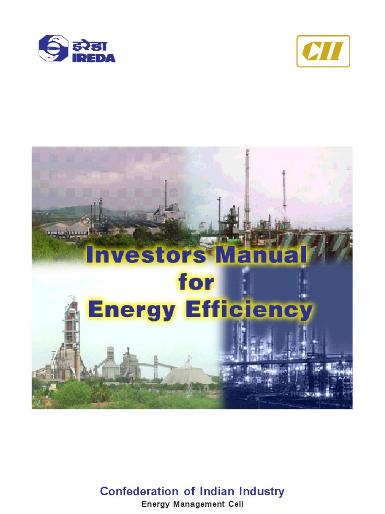 investor manual for energy efficiency mill grinding cement