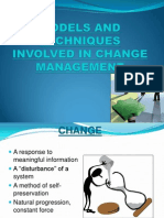 Models and Techniques Involved in Change Management (1)