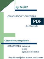 Concurso y Quiebra (Susana)