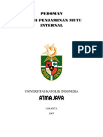 06Pedoman SPMI Unika Atma Jaya
