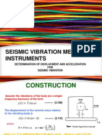 Derivation of Seimic Vibration