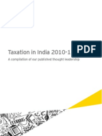 Taxation in India 2010 11 Ecopy