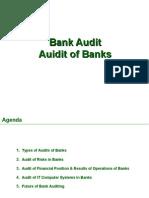 Audit of Banks  Audit