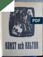 konst och kultur nr 1 1945