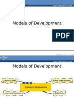 Models of development