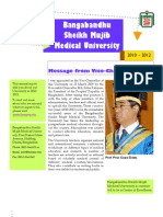 Bangabandhu Sheikh Mujib Medical University Annual Reports 2010-2012