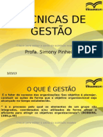 AULA TECNICAS DE GESTÃO CONTABEIS ATUAL 1