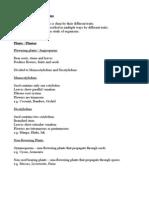 Grade 10 Biology  - Chapter animal classification