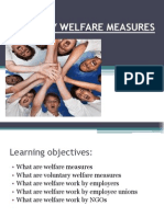 Voluntary Welfare Measures