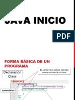 Java Inicio