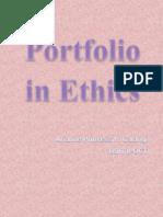 Portfolio in computer ethics