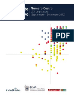 Reporte Legislativo Legislatura LXII Septiembre - Diciembre 2012