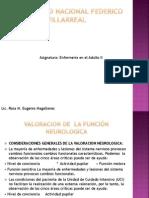Tema I - Valoracion de La Funcion Neurologica