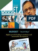 Union budget 2013-14