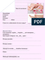 Ficha Manicure Pedicure Claudia
