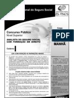 Direito-InSS Prova Cargo NS 07 Caderno I