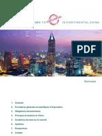 Lancement de produits cosmétiques en Chine continentale
