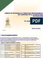 Presentación campos y practicas - yucatan