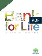 Third Quarterly Report 2011