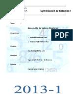 Generacion de Valores Aleatorios-1pc