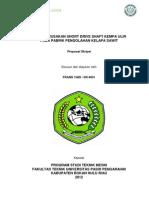 Contoh Proposal Skripsi Teknik Mesin